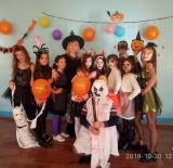 Halloween  party для п'ятих класів
